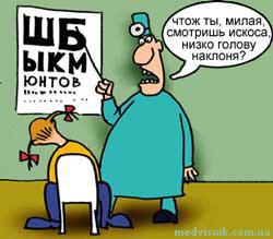 офтальмолог коррекция зрения