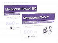 метформин гексал