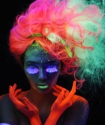 Флуоресцирующие пигменты для волос от Manic Panic